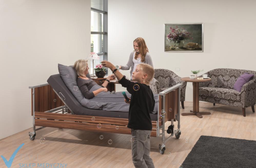 Domiflex łóżko Rehabilitacyjne Elektryczne Bock Gratis